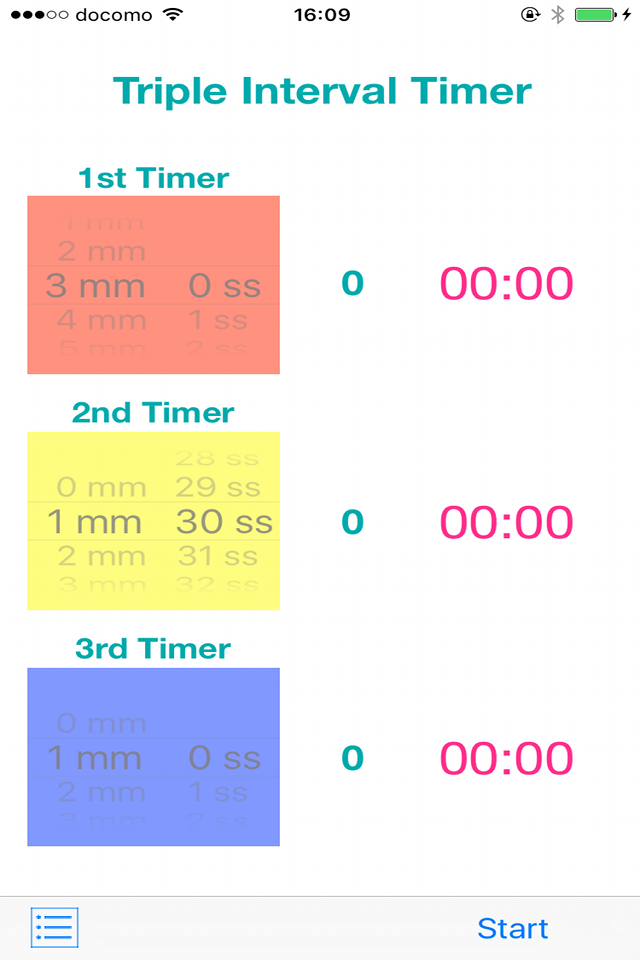 Triple Timer screenshot01
